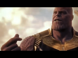 Avengers Infinity War Thanos Snap His Fingers - YouTube: Avengers Infinity War Thanos Snap His Fingers - YouTube