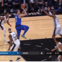 Memes, Spurs, and Back: AVERICKS  7  SPURS  6 1st Qtr 8:14 Luka Doncic scored a career-high 31 PTS (11-18 FG) with 8 REB & 4 AST vs the Spurs. He also played 40 minutes despite a strained back and continued to play in OT after tweaking his ankle.   Rookie averages: 20.4 PTS, 6.4 REB & 4 AST  https://t.co/wYjnCAlQ0c