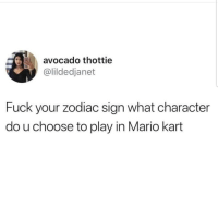 Lmaoo 🤔🤔🤔😂😂 🔥 Follow Us 👉 @latinoswithattitude 🔥 latinosbelike latinasbelike latinoproblems mexicansbelike mexican mexicanproblems hispanicsbelike hispanic hispanicproblems latina latinas latino latinos hispanicsbelike: avocado thottie  @lildedjanet  Fuck your zodiac sign what character  do u choose to play in Mario kart Lmaoo 🤔🤔🤔😂😂 🔥 Follow Us 👉 @latinoswithattitude 🔥 latinosbelike latinasbelike latinoproblems mexicansbelike mexican mexicanproblems hispanicsbelike hispanic hispanicproblems latina latinas latino latinos hispanicsbelike