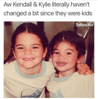 Horny, Kardashians, and Memes: Aw Kendall & Kylie literally haven't  changed a bit since they were kids  The Horny Nun LMFAOOOOOOOO WHO DID THIS !? • • • • • ‼️TAG US WHEN YOU REPOST‼️ kyliejenner kylie kimkardashian kim khloekardashian kourtneykardashian kendalljenner kanyewest kardashian jenner dash kyliecosmetics krisjenner robkardashian blacchyna kyga tyga KUWTK fake plastic surgery