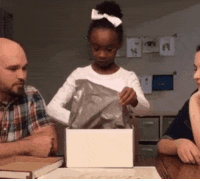 Parents, Tumblr, and Blog: awesomacious:  Her foster parents decided to adopt her