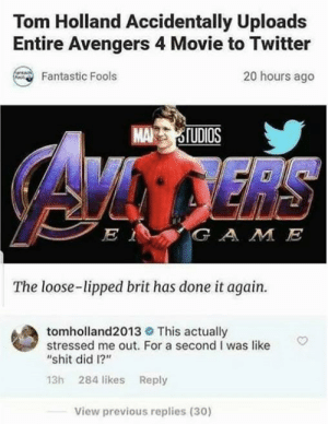 awesomacious:  Tom Holland is Wholesome: awesomacious:  Tom Holland is Wholesome