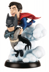 awesomage:  Batman  Superman Figure  : awesomage:  Batman  Superman Figure