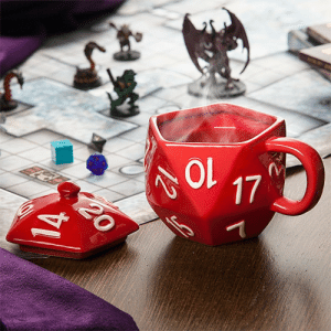 Tumblr, Blog, and Com: awesomage:  Critical Hit D20 Mug