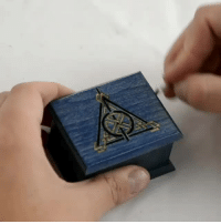 awesomage:  Harry Potter Deathly Hallows Music Box  : awesomage:  Harry Potter Deathly Hallows Music Box
