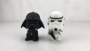 Anaconda, Darth Vader, and eBay: awesomage:HEY STAR WARS LOVERS, YOU WILL 100% LOVE THIS2 Pieces of BOBBLE SHAKING HEAD FIGURES: Darth Vader + Stormtrooper  Order Now, Limited Stock Units!!!