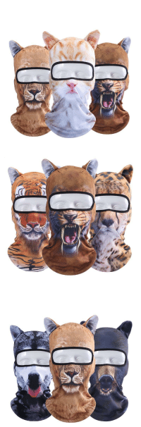 awesomage:Realistic Animal Face Mask BalaclavaSpecial Discount of 20% if you order 3 pcs: awesomage:Realistic Animal Face Mask BalaclavaSpecial Discount of 20% if you order 3 pcs