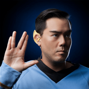 Star Trek, Tumblr, and Blog: awesomage:  Star Trek Wireless Vulcan Earbuds