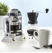 Star Wars, Tumblr, and Blog: awesomage:  Star Wars Coffee Press R2D2