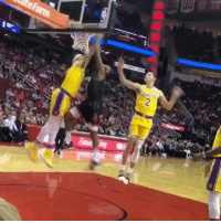 1545ad7b241c Awesome Fan Video of James Harden Dunking on JaVale McGee  Amp Flexing! Via  Bugsy geeIG Httpstco6Hm6SjBKk1