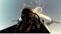 Memes, Barrel Roll, and Awesome Photos: Awesome photo of a pilot mid barrel roll!
