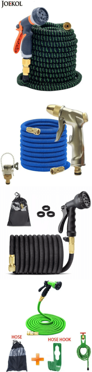 awesomesthesia: Expandable Garden Hose Buy an Expandable Garden Hoses with Tap Connectors and 8 Pattern Spray Guns. Our expandable hoses will extends 3 times the normal length. Available to buy in 25ft, 50ft, 75ft, 100ft, 125ft, 150ft, 175ft and 200ft maximum extended lengths. : awesomesthesia: Expandable Garden Hose Buy an Expandable Garden Hoses with Tap Connectors and 8 Pattern Spray Guns. Our expandable hoses will extends 3 times the normal length. Available to buy in 25ft, 50ft, 75ft, 100ft, 125ft, 150ft, 175ft and 200ft maximum extended lengths.