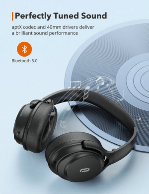 awesomesthesia: SoundSurge 85 ANC Headphones  Drown Out Noises: Advanced Active Noise Cancelling (ANC) technology to effectively block out annoying noise around you Incredible Fast Charging: Plug in for only 5 minutes with a USB-C connector and get 2 hours playback; only 45 minutes charging time for an ultra-long playtime up to 40 hours Customizable Comfort & Ultra-Lightweight: Soft protein memory foam ear pads with large ear cups to completely cover your ears and reduce pressure on your ears, while the headphones itself only weights 7. 8oz(220g) for long-time wear : awesomesthesia: SoundSurge 85 ANC Headphones  Drown Out Noises: Advanced Active Noise Cancelling (ANC) technology to effectively block out annoying noise around you Incredible Fast Charging: Plug in for only 5 minutes with a USB-C connector and get 2 hours playback; only 45 minutes charging time for an ultra-long playtime up to 40 hours Customizable Comfort & Ultra-Lightweight: Soft protein memory foam ear pads with large ear cups to completely cover your ears and reduce pressure on your ears, while the headphones itself only weights 7. 8oz(220g) for long-time wear