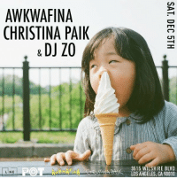 Tonight at @thelinehotel! Meet and greet! Dj @zomanno @christinapaik and I will be hosting a party in the lobby!: AWKWAFINA  CHRISTINA PAIK  & DJ ZO  LINE  3515 WILSHIRE BLVD  AN LOS ANGELES, CA 90010 Tonight at @thelinehotel! Meet and greet! Dj @zomanno @christinapaik and I will be hosting a party in the lobby!