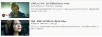 """me_irl: AWOLNATION Sail (Official Music Video)  Red Bull Records105M views 4 years ago  Watch the new AWOLNATION video """"Handyman-https://youtu.be/nFwV97X_OPo Get AWOLNATION's  new album, """"Here Come  Red Ba  RDS  4:24  SAIL - AWOLNATION (Unofficial Video)  Nanalew 306M views . 7 years ago  WATCH THE BLOOPERS HERE: http://www.youtube.com/watch?v=F5vfAJ.. WATCH RESPONDING TO  SAIL COMMENTS  4:09 me_irl"""
