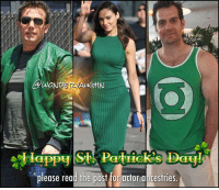 🍀Celebrating the luck of the Irish with team TRINITY!🍀 Here in the United States, March 17th is a cultural celebration and feast day recognizing Patrick, the foremost patron saint in Ireland. * I work in a school in NYC and the day is traditionally acknowledged by individuals (including those of non-Irish decent like Gal Gadot) to wear the color GREEN! According to tradition, the rare 4-leaf clover brings good luck and fortune. ** @benaffleck is Scottish, English, Irish, German, and Swiss ancestry. @henrycavill is English, Scottish, and Irish descent. @gal_gadot's ancestry is Jewish, Polish, Austrian, German, and Czech. *** Happy St Paddy's Day!! luckoftheirish happystpatricksday stpaddysday: awOND  DERMA  Happy St. Patricks Day!  lease read the post for actor ancestries 🍀Celebrating the luck of the Irish with team TRINITY!🍀 Here in the United States, March 17th is a cultural celebration and feast day recognizing Patrick, the foremost patron saint in Ireland. * I work in a school in NYC and the day is traditionally acknowledged by individuals (including those of non-Irish decent like Gal Gadot) to wear the color GREEN! According to tradition, the rare 4-leaf clover brings good luck and fortune. ** @benaffleck is Scottish, English, Irish, German, and Swiss ancestry. @henrycavill is English, Scottish, and Irish descent. @gal_gadot's ancestry is Jewish, Polish, Austrian, German, and Czech. *** Happy St Paddy's Day!! luckoftheirish happystpatricksday stpaddysday