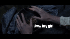 When a hot girl opens up her first Tinder account.: Aww hey girl When a hot girl opens up her first Tinder account.