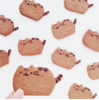 Awww! Love these awesome home made Pusheen cookies by Instagram user Elleventy (bit.ly/1IAlLQs) 💖: Awww! Love these awesome home made Pusheen cookies by Instagram user Elleventy (bit.ly/1IAlLQs) 💖