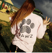 Thanks @cali_lover303 for the support in our grapefruit black paisley tee! Order now at PawzShop.com 🐾: AWZ Thanks @cali_lover303 for the support in our grapefruit black paisley tee! Order now at PawzShop.com 🐾