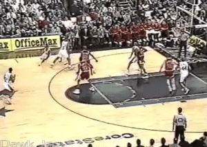 Jordan, Awesome, and Iverson: ax OfficeMax  Dawk ess exsea0 RT @nbarchives: iverson crosses up jordan.   so awesome. https://t.co/P7y6mjZZVu