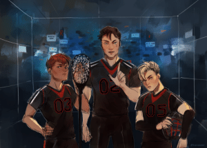 Target, Tumblr, and Twitter: AY  03  @karasawn karasawr:As prompted on twitter, the perfect court boys