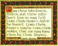 Blessed, Love, and Episcopal Church : ay choose tubo love us.  Tove us, apo Rbose uubo  don't love us, may  CURD their bea RCS. iF  be Doesn't tuRptbeiR  beaRts, may be CURD their  ankles, we may knou  Chem by theiR limping.  delic  S1 A Blessing (that you won't find in your BCP)