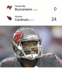 Arizona Cardinals, Memes, and Arizona: Ay Tampa Bay  (1-0)  Buccaneers  Arizona  Cardinals (0-1)  24 Cardinals are still scoring against FSU