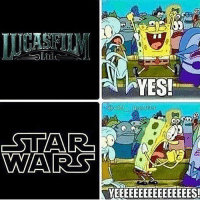 Memes, Movies, and Movie: AYES!  AWAA RSS  YEEEEEEEEEEEEEEEES! Me every time a Star Wars movie starts starwarsfacts