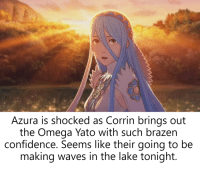 Azura Is Shocked As Corrin Brings Out The Omega Yato With Such