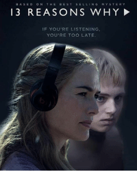 """""""Cersei Lannister, Welcome to your tape"""" 😁 WHOMST'D'VE'RE'Y'ALL still hasn't see-ed 13 reasons why? - Via: @thronesmemes: B A SED ON THE  BEST  SELLIN G  M Y S T E R Y  13 REASONS WHY  IF YOU'RE LISTENING  YOU'RE TOO LATE. """"Cersei Lannister, Welcome to your tape"""" 😁 WHOMST'D'VE'RE'Y'ALL still hasn't see-ed 13 reasons why? - Via: @thronesmemes"""