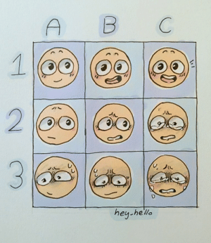 heyhelloitsk:  I made an expression sheet! Well tried to- You can send character requests of these (preferably Sanders Sides) but maybe other characters if I know them-!  Oh also, you can also use the sheet if you'd like! Just as long as you keep my signature on there for credit- So yeah! :D: B  C  2  hey-he'lle heyhelloitsk:  I made an expression sheet! Well tried to- You can send character requests of these (preferably Sanders Sides) but maybe other characters if I know them-!  Oh also, you can also use the sheet if you'd like! Just as long as you keep my signature on there for credit- So yeah! :D