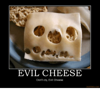 Evil: b  EVIL CHEESE  Dont cry, Evil Cheese  motifake.com