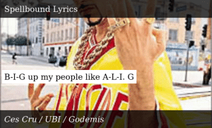 SIZZLE: B-I-G up my people like A-L-I. G