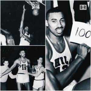 Wilt Chamberlain scored 100 points on March 2, 1962  57 years later, still a record: B R  100 Wilt Chamberlain scored 100 points on March 2, 1962  57 years later, still a record
