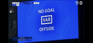 The 4 cruelest words in the English language. https://t.co/HZcB7OT9NG: B R  90:00 MC 53  3:33 +5  TOT (5-4)  INT  MC 5 3 TOT  NO GOAL  VAR  OFFSIDE  OFFSIDE  NO GOAL The 4 cruelest words in the English language. https://t.co/HZcB7OT9NG
