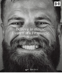 Just Do It, Magic, and Total: B-R  Believe in magic.  Even if it's Fitzmagic.  Just do it 417 pass yards, 5 total TDs 🎩