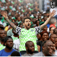 Football, Argentina, and Nigeria: B R  FOOTBALL Argentina needs that Nigeria win.