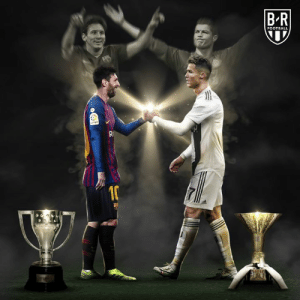 Barcelona, Football, and Manchester United: B-R  FOOTBALL It's been 10 years since Messi and Ronaldo were league champions in the same season  Messi with Barcelona and CR7 with Manchester United in 2009 🤝