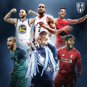 Alive, Football, and Game: B R  FOOTBALL  PORT  30  Standard  Chartered —Incredible Game 7s —Man City PL champs —Curry comes alive —UCL comebacks  What a week 🔥