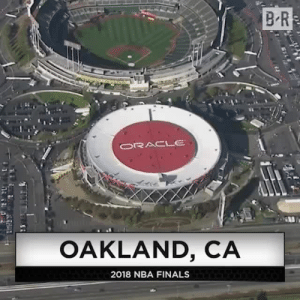 Cavs vs. Warriors in the Finals for the next 30 years 🤣: B R  ORACLE  OAKLAND, CA  2018 NBA FINALS Cavs vs. Warriors in the Finals for the next 30 years 🤣