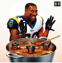 Super Bowl, Rams, and Bowl: B-R  Rams  13 Gumbo's served.  Rams are going to the Super Bowl!