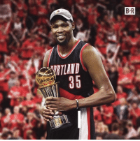 Kevin Durant, Sports, and Greg Oden: B-R  RTLAND  35 Ten years ago, the Trail Blazers took Greg Oden over Kevin Durant. What if?