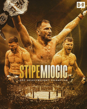 Stipe Miocic gets his belt back with a KO victory over Daniel Cormier  #UFC241: B R  STIPEMIOCIC  UFC HEAV Y WEIGHT CHAMPION  BA Stipe Miocic gets his belt back with a KO victory over Daniel Cormier  #UFC241