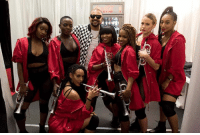 RRR!!! WID DI GYAL DEM!!! MI BEAUTIFUL DANCERS WORKING THE #DUTTYSTEPPINZ MOVES ON STAGE EVERY TIME!!! RRR!!!: (b RRR!!! WID DI GYAL DEM!!! MI BEAUTIFUL DANCERS WORKING THE #DUTTYSTEPPINZ MOVES ON STAGE EVERY TIME!!! RRR!!!