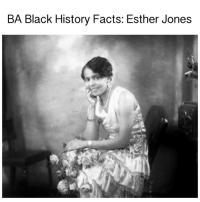 """Black History Facts: Esther Jones blogged by @Msjennyb ⠀⠀⠀⠀⠀⠀⠀⠀⠀ ⠀⠀⠀⠀⠀⠀⠀⠀⠀ Did you know, Betty Boop was inspired by a black woman? ⠀⠀⠀⠀⠀⠀⠀⠀⠀ ⠀⠀⠀⠀⠀⠀⠀⠀ The legendary cartoon character was inspired by Esther Jones, otherwise known as """"Baby Esther"""", an African-American singer and entertainer, best known for her """"baby style"""" singing. She performed at the Cotton Club in Harlem, regularly in the 1920s. Her trademark vocal style, using """"boops"""" and other jazzy scats and sounds caught the attention of actress Helen Kane. After that, Kane began using similar """"boops"""" in her songs, including the """"baby style"""" singing as well. ⠀⠀⠀⠀⠀⠀⠀⠀⠀ ⠀⠀⠀⠀⠀⠀⠀⠀ Ten years later, cartoonist Max Fleischer introduced a caricature of the jazz age flapper, which then became the first and most famous sex symbol in animation. However, Kane immediately tried to sue Fleischer and Paramount Publix Corporation, saying that they used her image and style. In turn, video evidence of Baby Esther, provided by Fleischer, showed that the style pre-dated Kane, which lead to a ruling against her. BABlackHistory: BA Black History Facts: Esther Jones Black History Facts: Esther Jones blogged by @Msjennyb ⠀⠀⠀⠀⠀⠀⠀⠀⠀ ⠀⠀⠀⠀⠀⠀⠀⠀⠀ Did you know, Betty Boop was inspired by a black woman? ⠀⠀⠀⠀⠀⠀⠀⠀⠀ ⠀⠀⠀⠀⠀⠀⠀⠀ The legendary cartoon character was inspired by Esther Jones, otherwise known as """"Baby Esther"""", an African-American singer and entertainer, best known for her """"baby style"""" singing. She performed at the Cotton Club in Harlem, regularly in the 1920s. Her trademark vocal style, using """"boops"""" and other jazzy scats and sounds caught the attention of actress Helen Kane. After that, Kane began using similar """"boops"""" in her songs, including the """"baby style"""" singing as well. ⠀⠀⠀⠀⠀⠀⠀⠀⠀ ⠀⠀⠀⠀⠀⠀⠀⠀ Ten years later, cartoonist Max Fleischer introduced a caricature of the jazz age flapper, which then became the first and most famous sex symbol in animation. However, Kane immediately tried to sue Fleischer and Paramount Publix Corporation, say"""