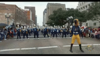 "Baller Alert, Memes, and Louisiana: BABattleOfTheBands: There's nothing like going to a parade to celebrate different events but to also be entertained by some of our favorite HBCU marching bands. To show our love and appreciation for the games, parades, bands and the dancers, Baller Alert wants to showcase the hottest marching bands and dance squads around. Let's check out today's Ballerific Band... SouthernUniversity ""The Human Jukebox"" Marching Band was spotted at the MLK Parade in Shreveport, Louisiana performing WeGetTurntUp. Want to see your favorite HBCU band during Mardi Gras, email @peachkyss at peachkyss@balleralert.com"