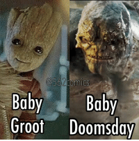 Baby, It's Cold Outside, Memes, and Baby: Baby Baby  Groot Doomsday