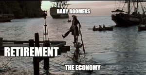 Oh well!: BABY BOOMERS  RETIREMENT  THE ECONOMY Oh well!