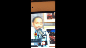 Sports, Stephen, and Stephen A. Smith: Baby Stephen A Smith, ranting like he just had his dessert taken away for not eating his broccoli  (Video via @Dylangonzalez21)  https://t.co/J8WDEO7G7K