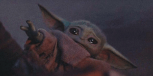 Baby Yoda is hot right now, so why not mix in a little Crying Cat? Invest in my glorious creation!: Baby Yoda is hot right now, so why not mix in a little Crying Cat? Invest in my glorious creation!